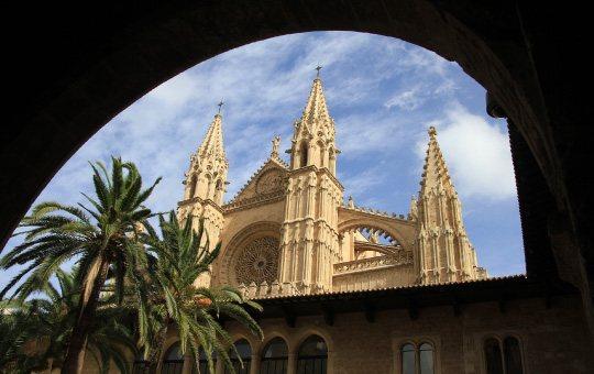 Mallorca, destino cultural. Catedral de Mallorca. La Seu.