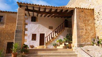 Die Klosteranlage Santuario de la Consolación, S'Alqueria Blanca, Mallorca
