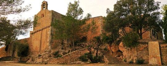 Die Klosteranlage Santuari de la Consolació
