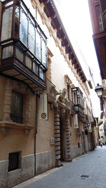 Ca'n Carasses, Italian architecture in Palma. Mallorca