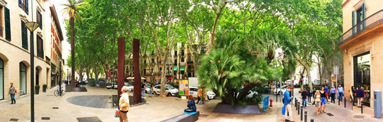 Chic shopping and tapas along El Born, Palma