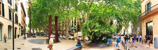 Chic shopping and tapas along El Born, Palma, Mallorca