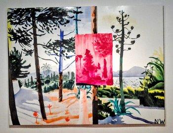 Ruta galerías de arte contemporáneo en Palma. Pelaires NICHOLAS WOODS