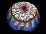 iglesia-de-cristal-la-Porciuncula-cupula-mallorca-