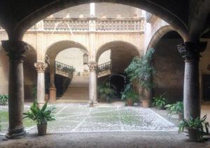 Innenhöfe von Palma: Son Vivot auf der Straße Can Savella