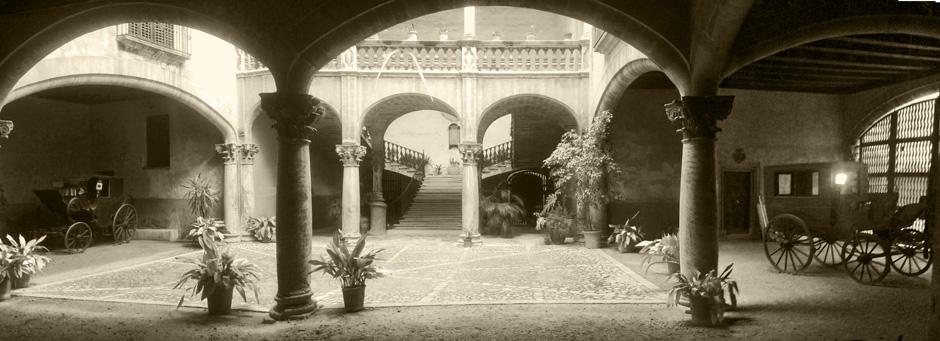 Innenhöfe von Palma Mallorca