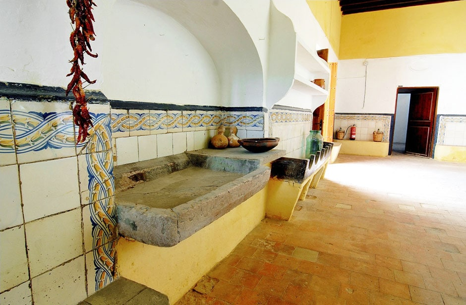Bendinat Castle, Mallorca, kitchen
