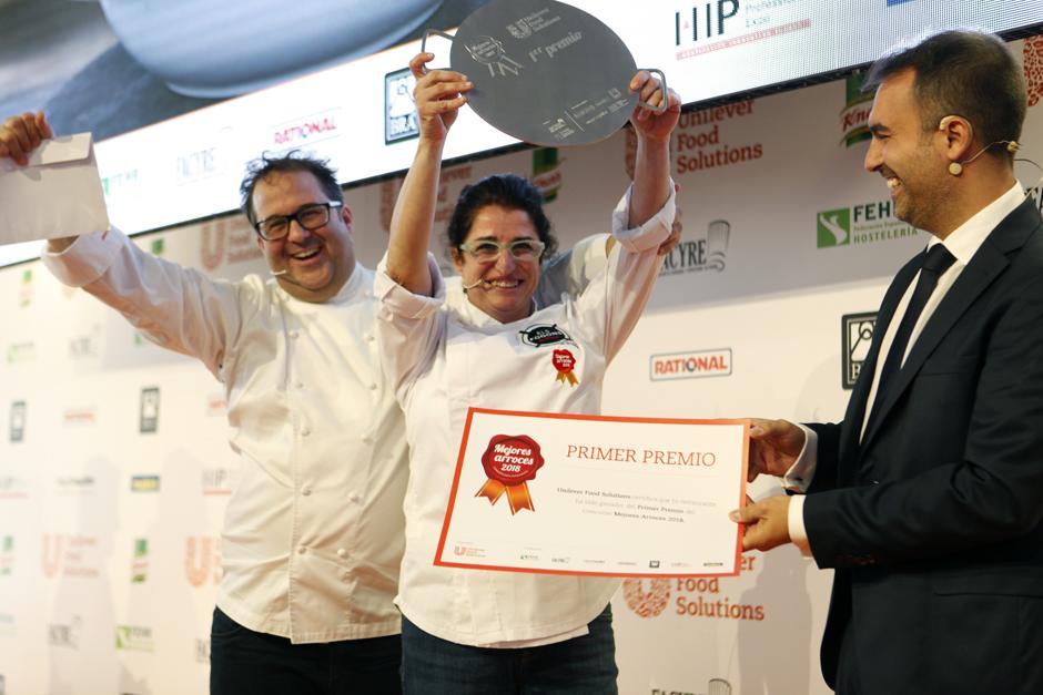 """Catalina Pons (Bunyola) gana el concurso Mejores Arroces de España con su """"Arroz Carbonero"""""""