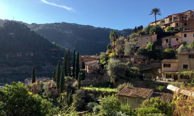 Deià, the fifth smallest of Mallorca