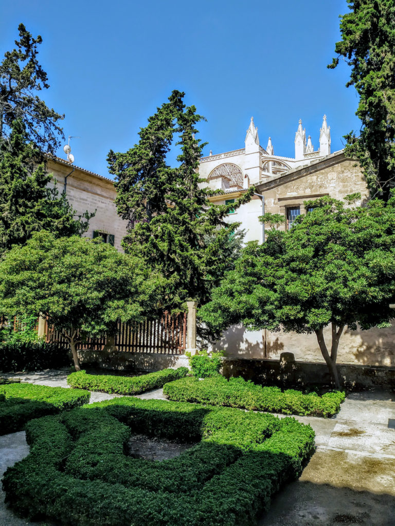 The Jardins del Bisbe / Bishop's Gardens, in Palma old town