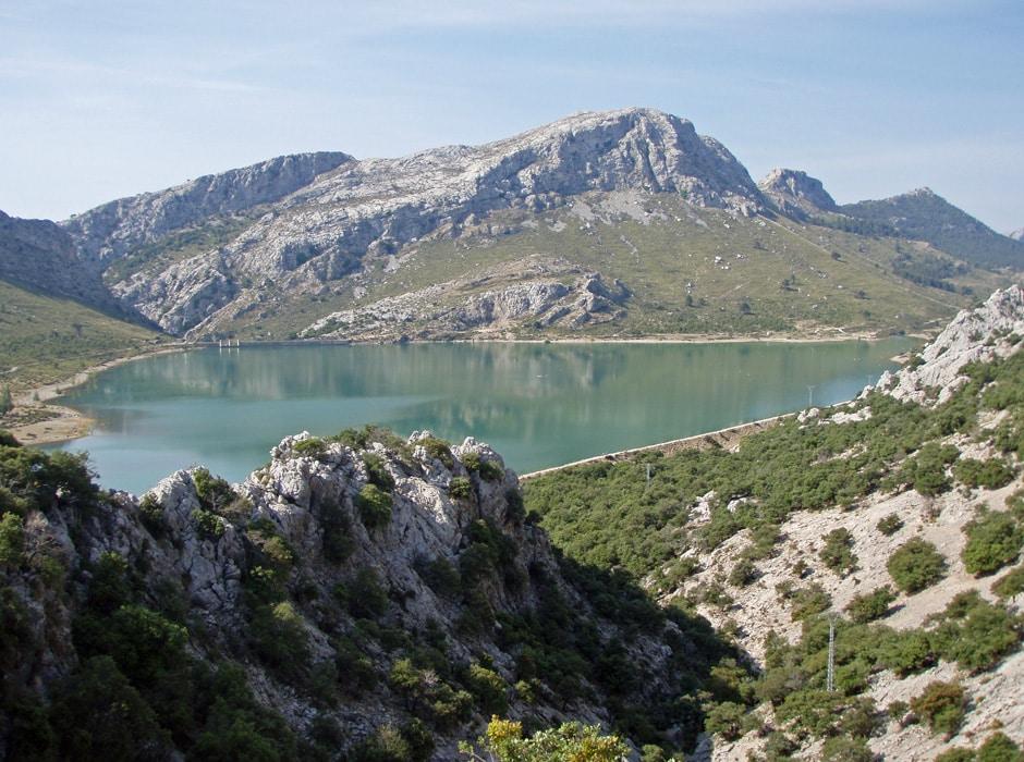 Embalse de Cúber, Mallorca