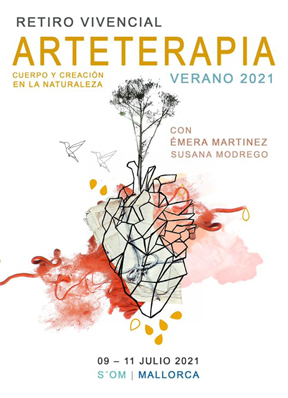 Retiro vivencial: Arteterapia. Cuerpo y creación en la naturaleza.